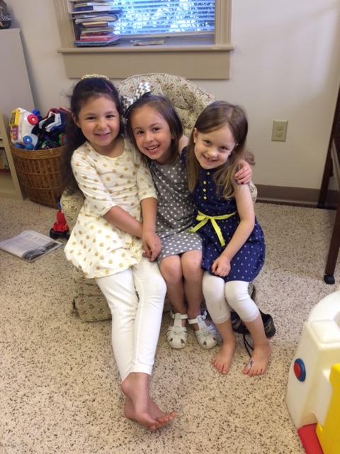 3 preschoolers
